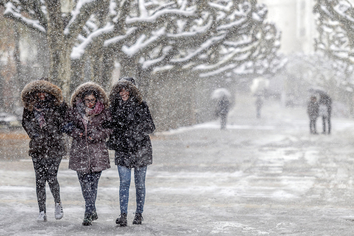 winter weather comes early to europe al jazeera