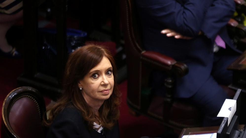 Judge orders arrest of ex-Argentine president Kirchner