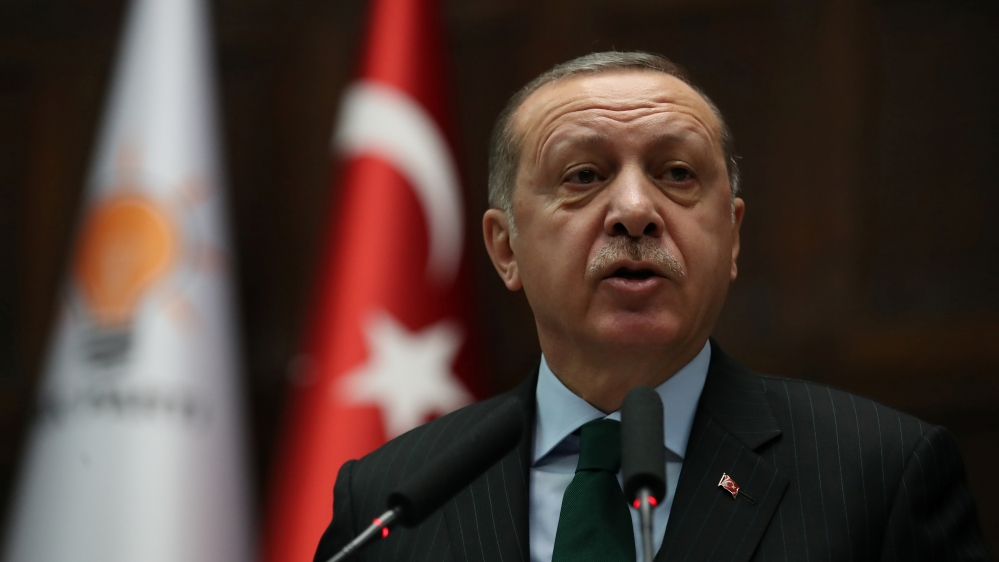 Erdogan: US Jerusalem move puts region in ring of fire
