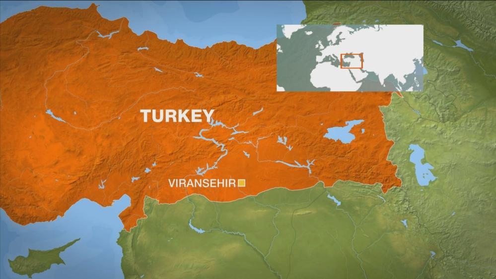 Explosion hits Viransehir in Turkey's southeast