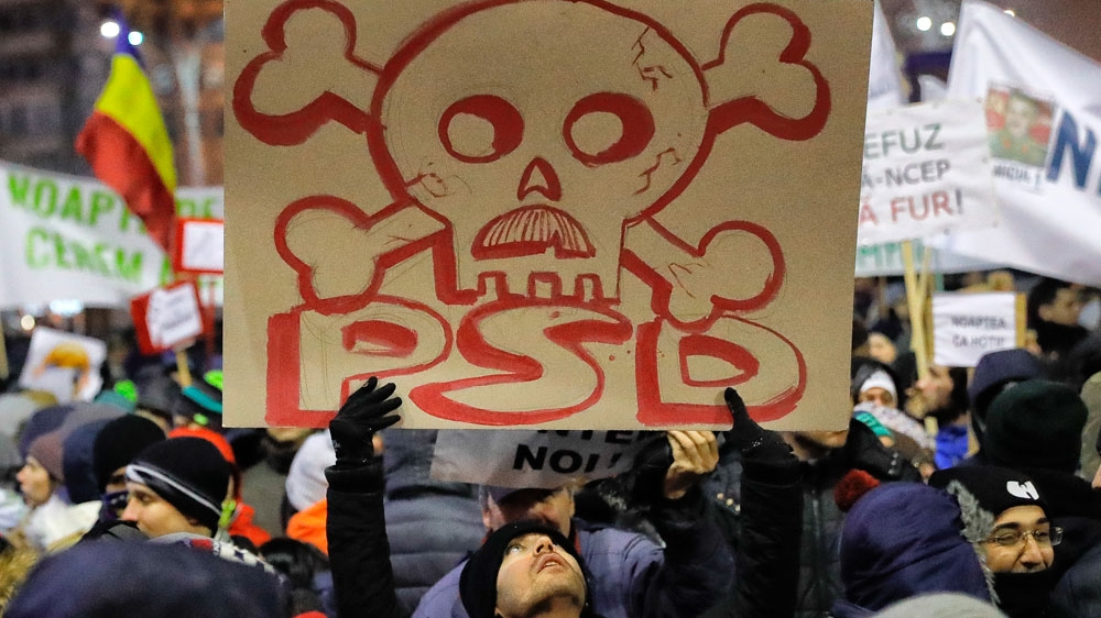 Romania: Fresh protests against corruption decree