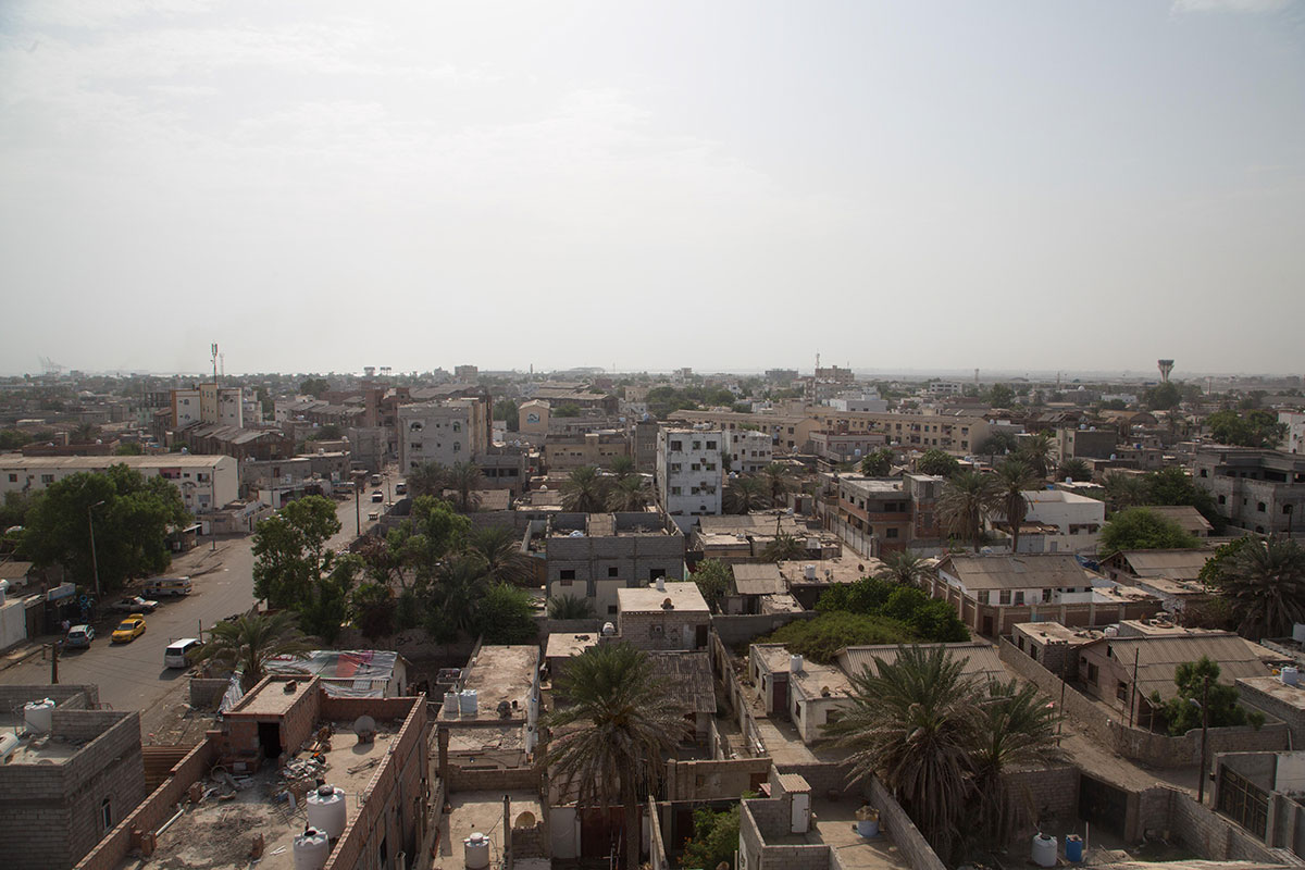 Once a port city known for thriving international trade, Aden has today become a base for armed groups such as al-Qaeda. [Maria de la Guardia/Al Jazeera]