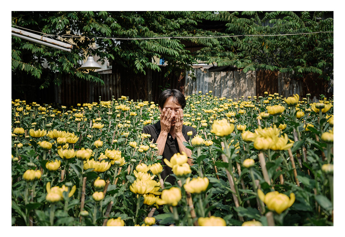 Charlie surfs on lotus flowers exploring vietnam al jazeera a flower seller rubs his eyes in the strong sunlight on a street in ho chi mightylinksfo