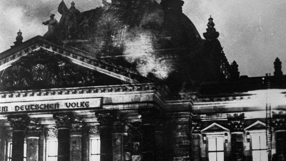 The Reichstag Fire >> Trump's desperate search for a 'Reichstag Fire' | USA | Al Jazeera