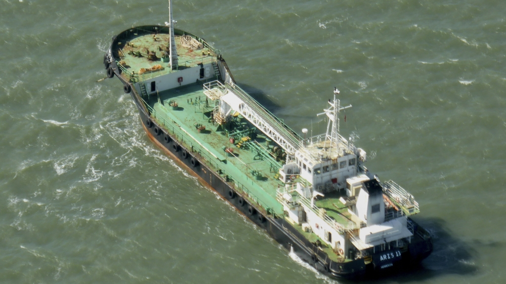 UAE oil tanker Aris 13 reportedly hijacked off Somalia, first pirate attack of a commercial vessel there since 2012.