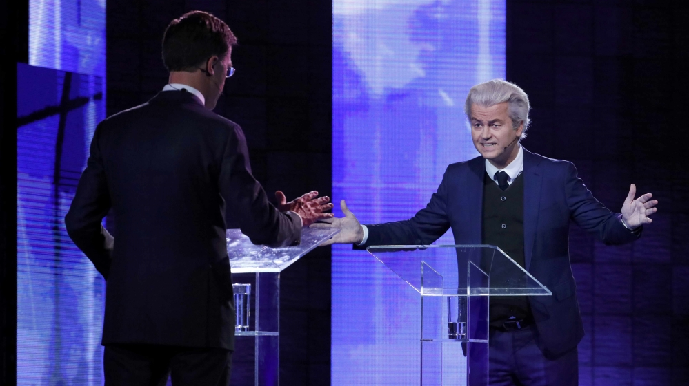 Mark Rutte, Geert Wilders spar in heated TV debate