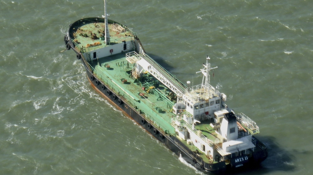 Vessel and eight sailors freed apparently without ransom payment, ending first hijacking of commercial ship since 2012.