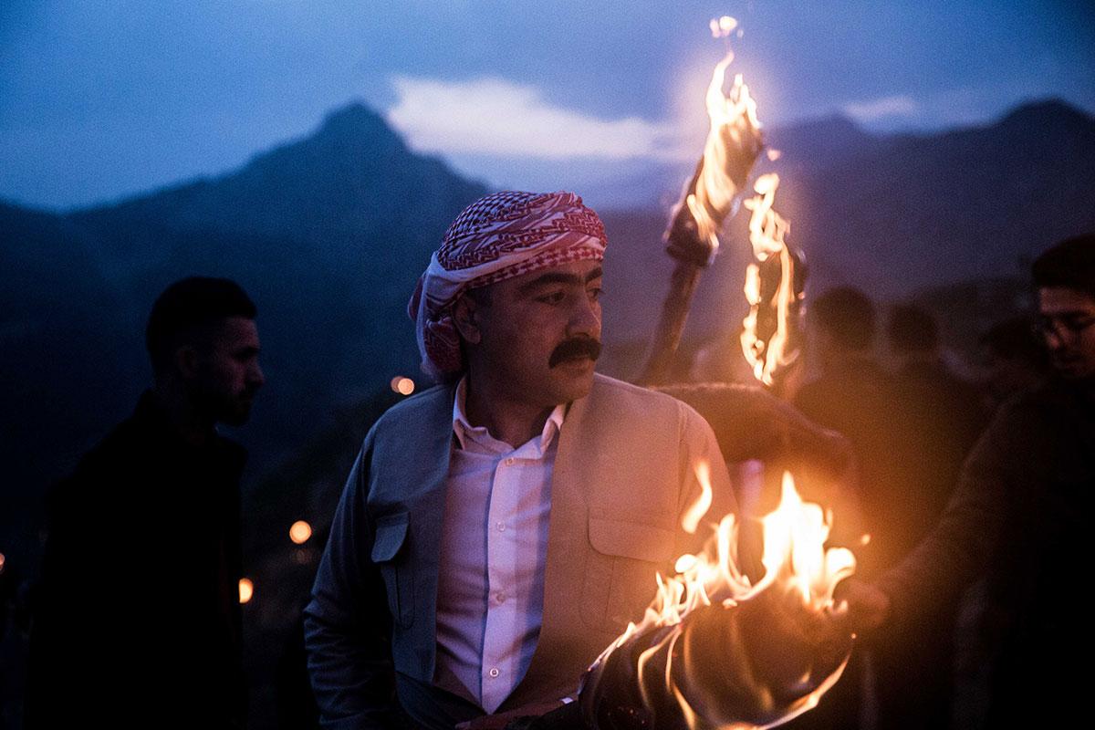 伊拉克库尔德人庆祝诺鲁兹节(Nurouz) - wuwei1101 - 西花社