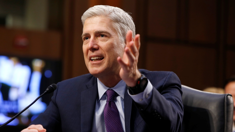 Gorsuch confirmed to Supreme Court