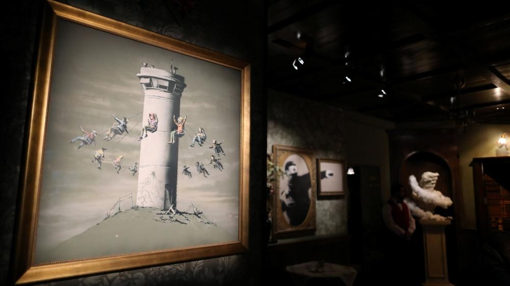 Banksy opens Walled Off Hotel in Bethlehem | News | Al Jazeera