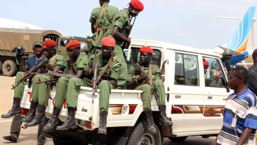 Thirteen soldiers are accused of raping five foreign aid workers and killing their local colleague in July 2016 .
