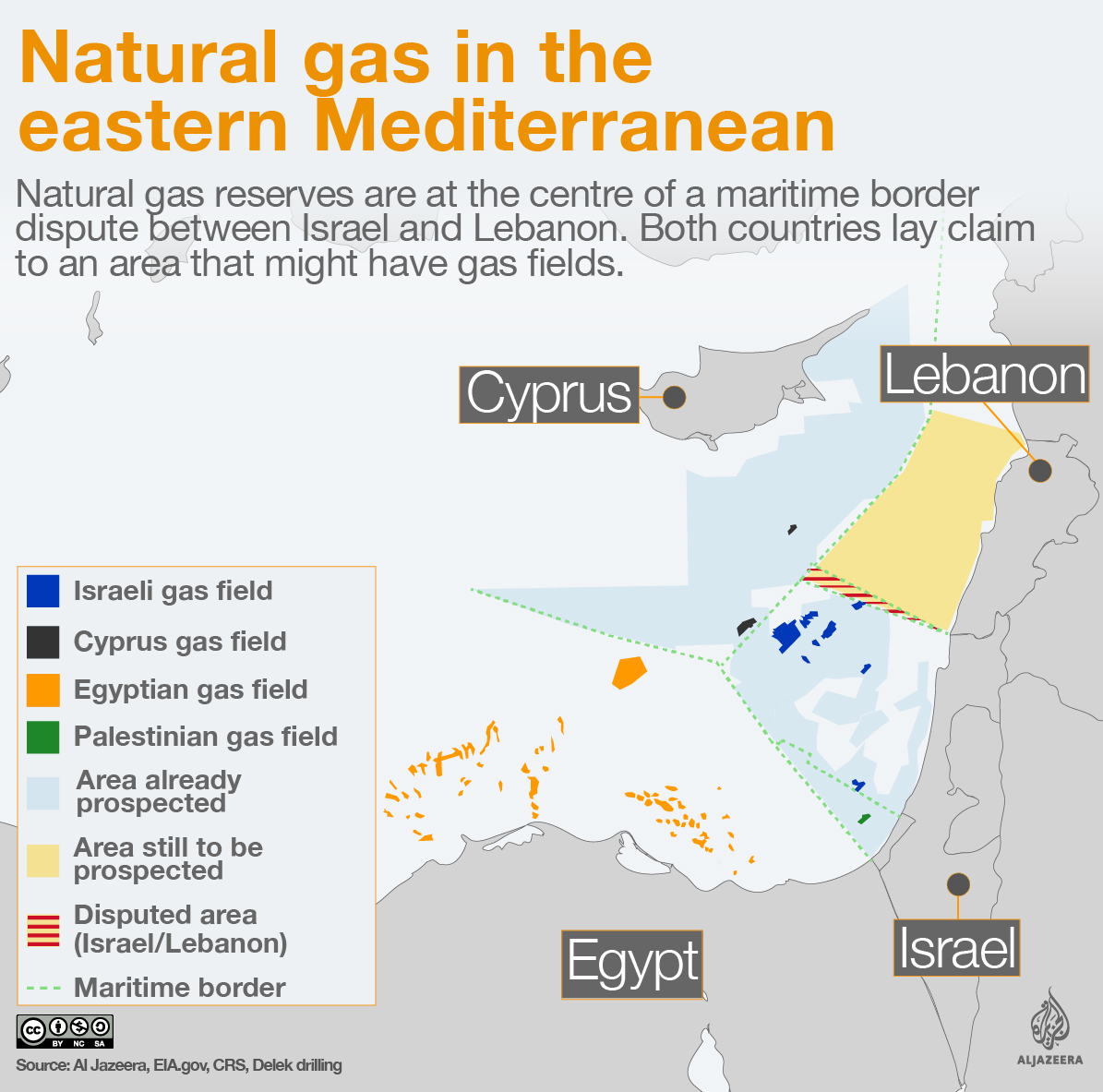 natural gas fields reserves eastern mediterranean sea infographic