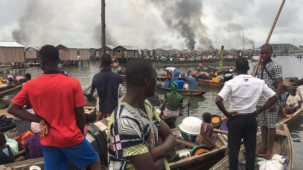 Thousands displaced as police raze Lagos' Otodo Gbame - Al Jazeera English