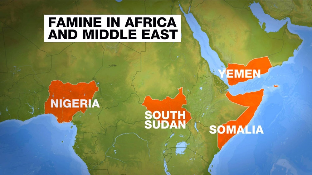 Starvation stalks Nigeria, Somalia, South Sudan, Yemen | News | Al on map of africa mecca, map of africa nubian desert, map of africa cote d'ivoire, map of africa malta, map of africa cabinda, map of africa sao tome and principe, map of africa macedonia, map of africa mesopotamia, map of africa horn of africa, map of africa guinea-bissau, map of africa arabian sea, map of africa italy, map of africa democratic republic of the congo, map of africa central african republic, map of africa nauru, map of africa burkina, map of africa guinea ecuatorial, map of africa north africa, map of africa nigeria, map of africa jordan,