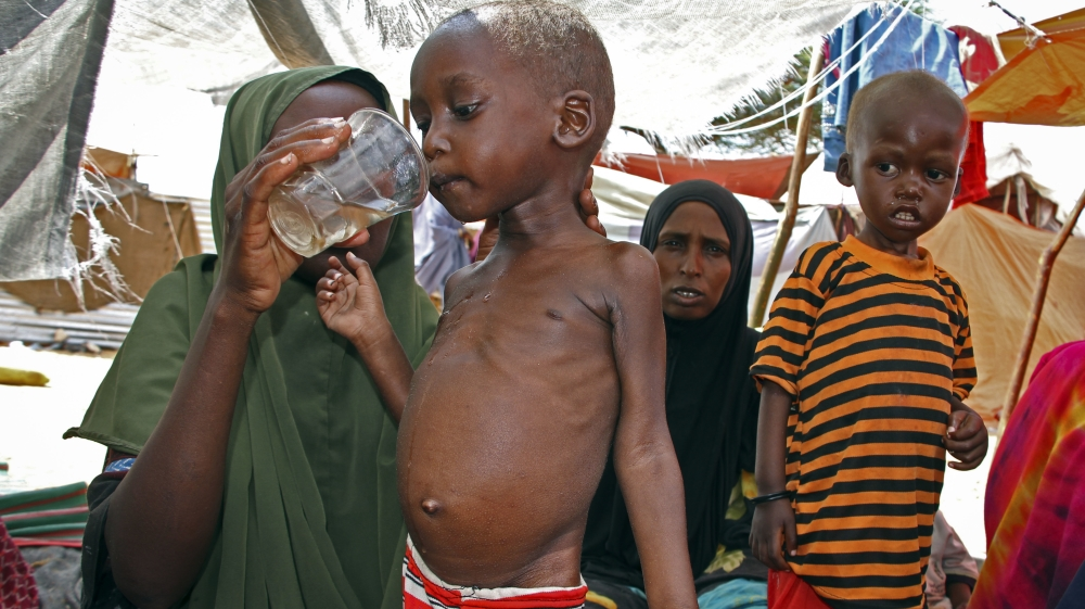 Appeal made for $4bn as mix of drought and conflict threatens 20 million in Nigeria, Somalia, South Sudan and Yemen.