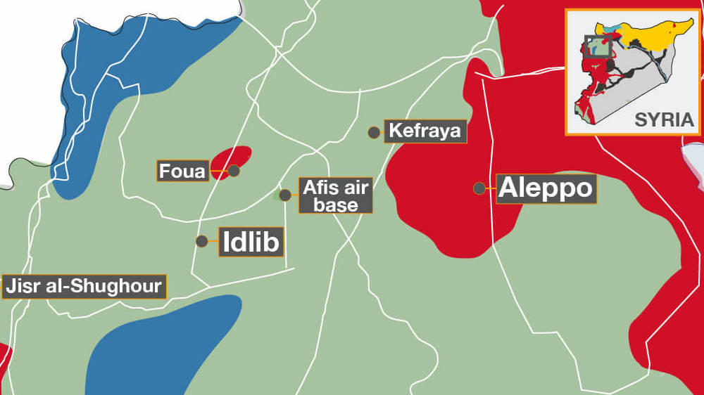 Idlib Who controls what Syria Al Jazeera
