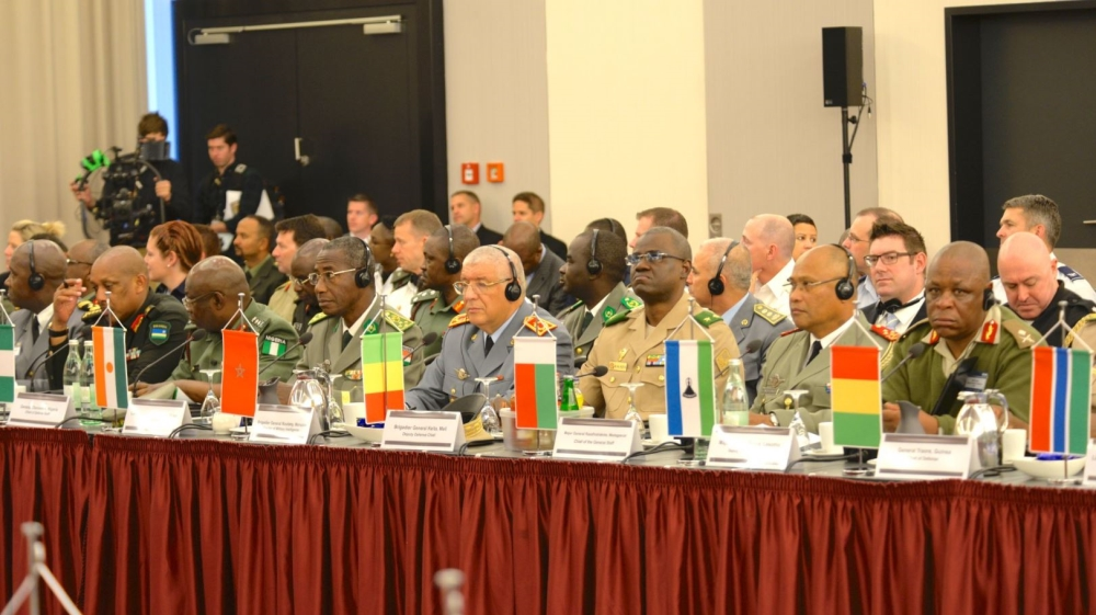 The US is hosting meeting of the group AFRICOM that brings together military leaders from 40 African countries.