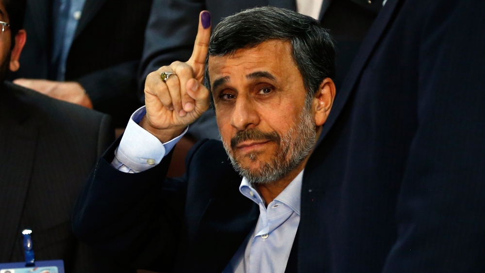 Mahmoud Ahmadinejad 'disqualified' from Iran elections