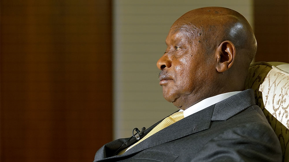 The Ugandan president discusses regional relationships, human rights abuses and possible constitutional reform.