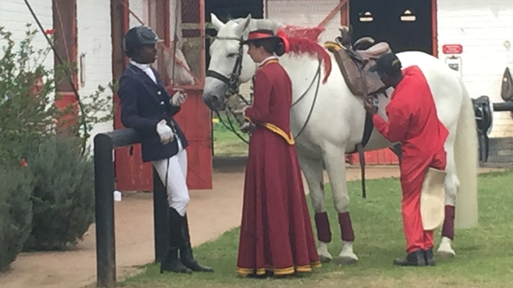 Shepherd Zira and Cyril Thabede have broken racial barriers in the once exclusive field of performance riding.