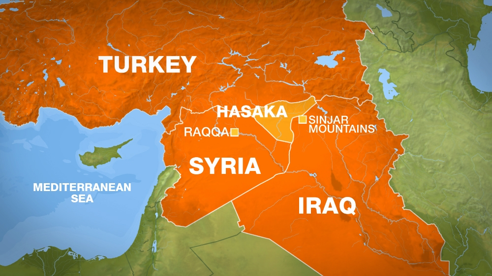 Turkey Targets Kurdish Fighters In Iraq And Syria Turkey News - Map of syria and turkey