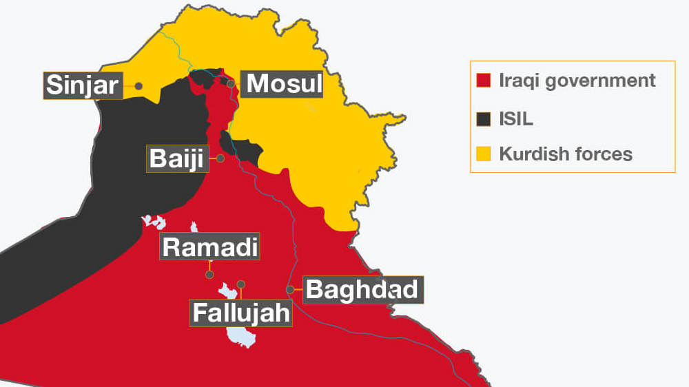 Isil Seized Mosul Iraq S Second Largest City In A Blitz In Mid 2014