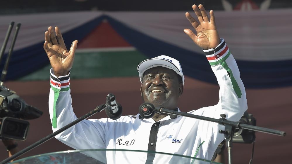 Raila Odinga, ex-prime minister, to race against Uhuru Kenyatta in August under National Super Alliance coalition.