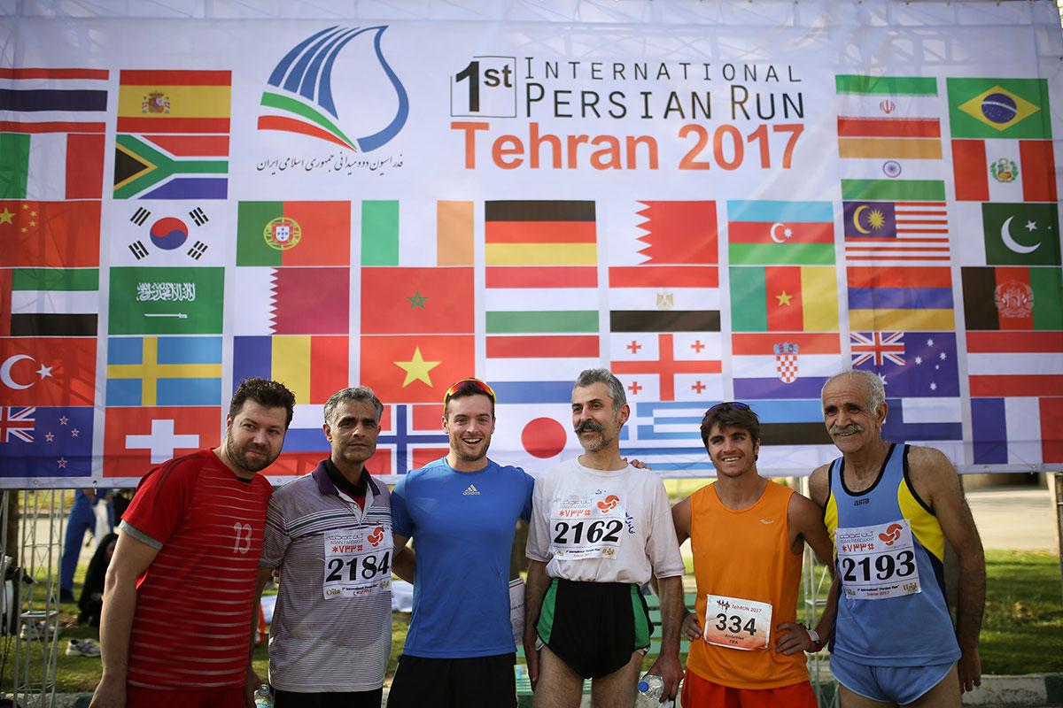 德黑兰历史上的第一次马拉松赛 - wuwei1101 - 西花社