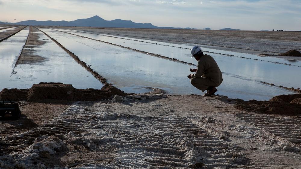 The changing landscape of Bolivia's salt flats