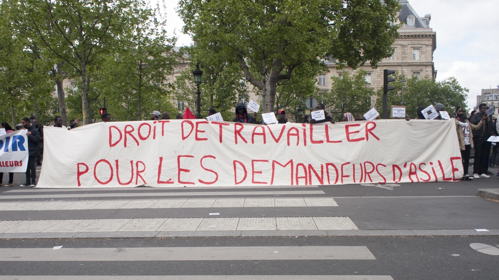 May 1 2017 Paris protest