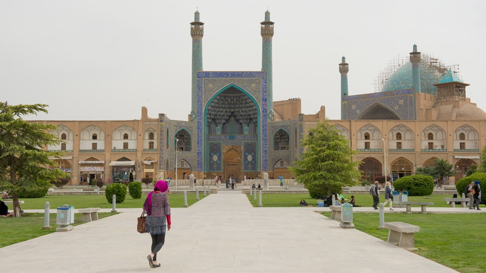 Tourists flock to Iran's 'image of the world'