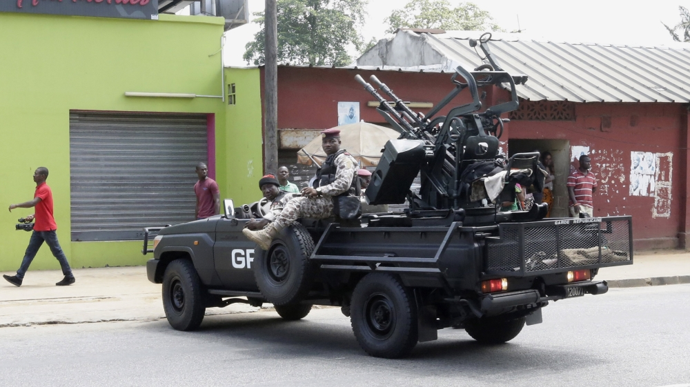 1 killed, several wounded by army mutiny in Ivory Coast