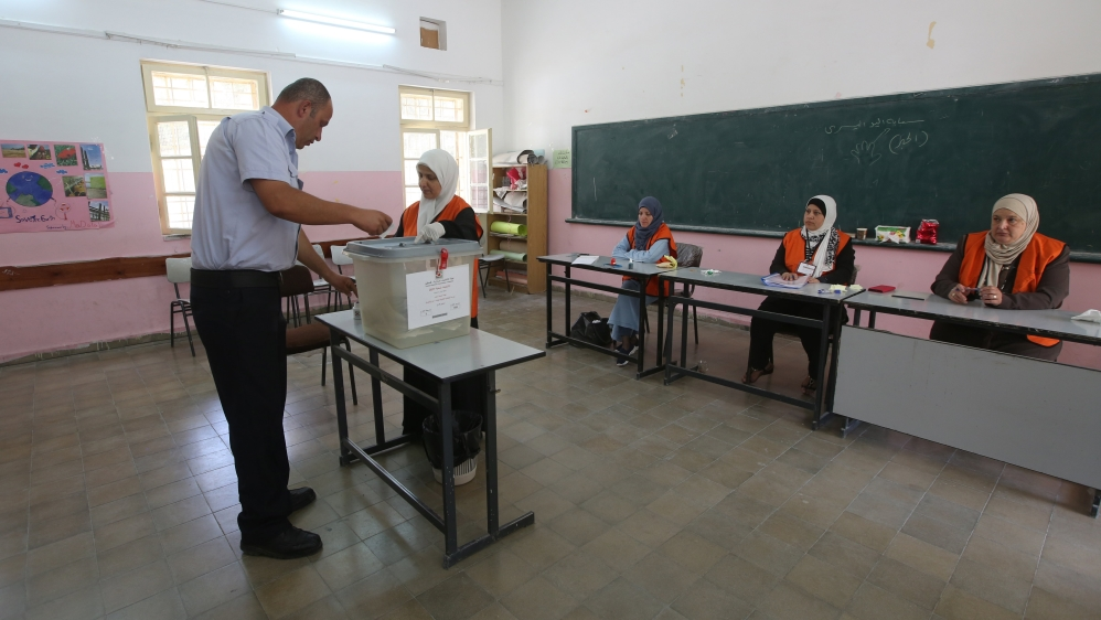 West Bank Palestinians vote in local elections