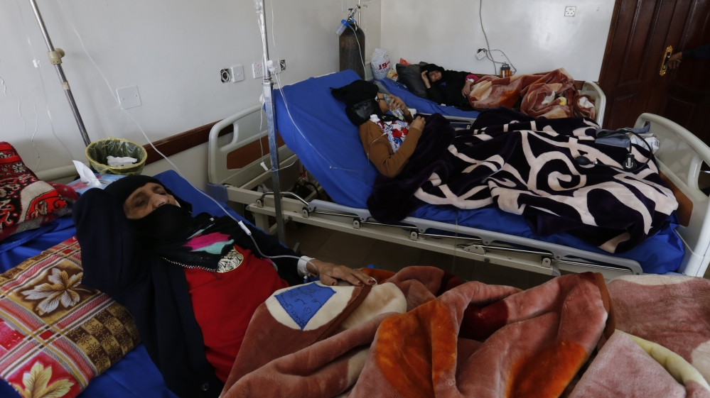Who is to blame for the cholera outbreak in Yemen?