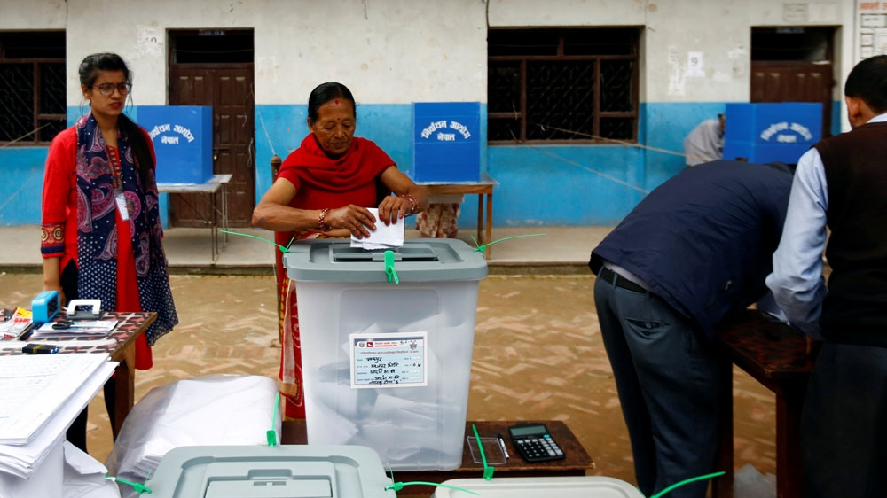 Nepalese vote in first local elections in 20 years