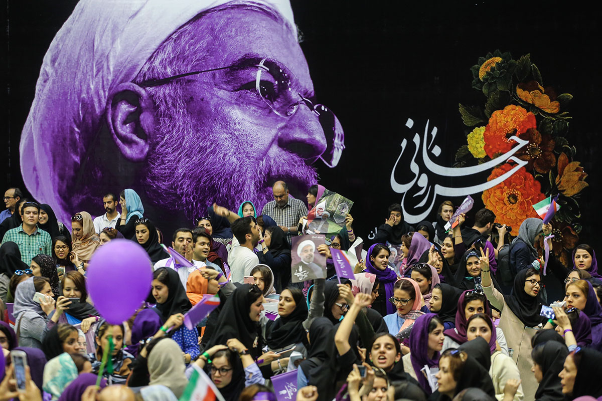 An estimated 56.4 million people are eligible to vote in Iran's presidential and local elections on May 19. [Mohammad Ali Najib/Al Jazeera]