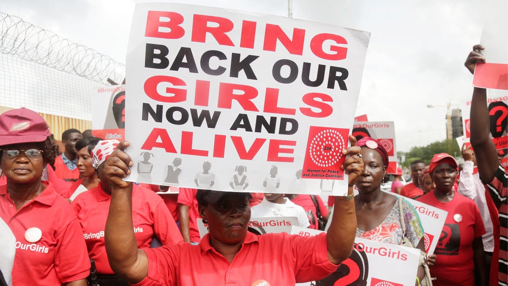 Officials say the girl was found by Nigerian troops less than two weeks after 82 Chibok girls were freed by the group.