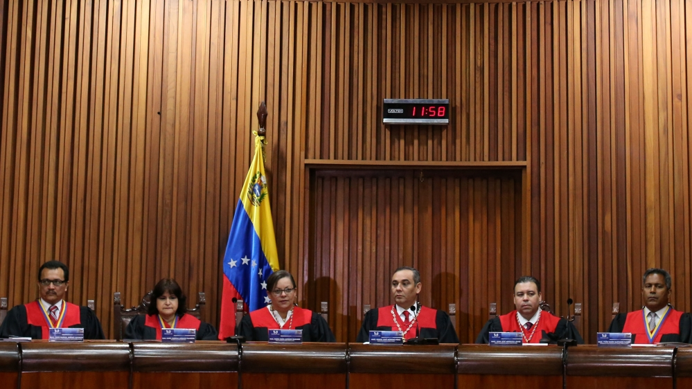 US Treasury Department Imposes Sanctions on Venezuelan Supreme Court