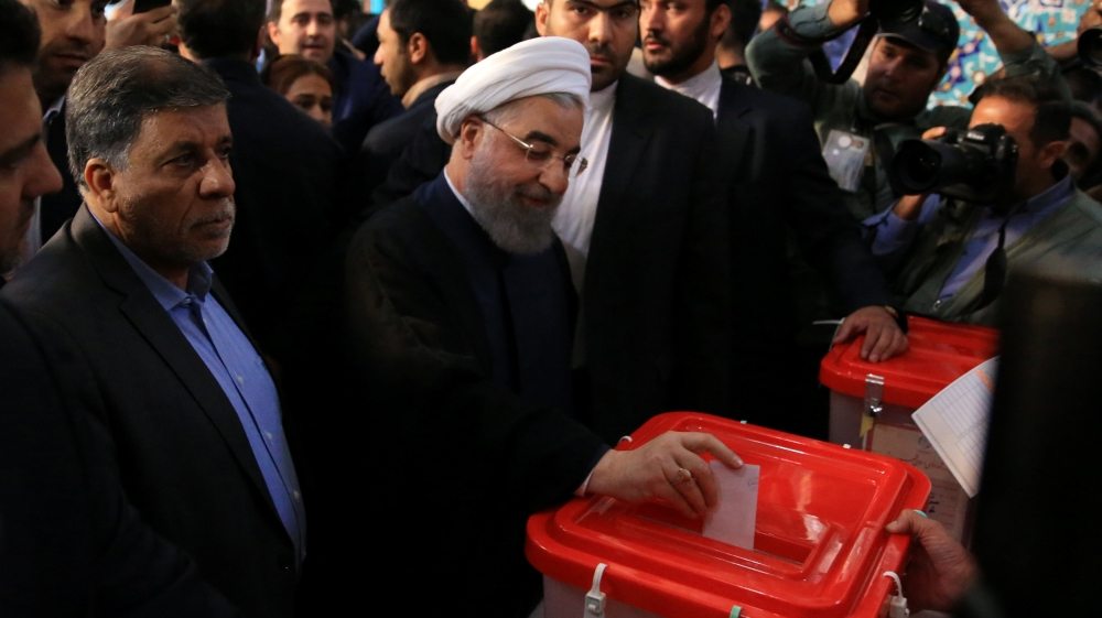 Iran: Rouhani leads initial count; over 70 percent turnout