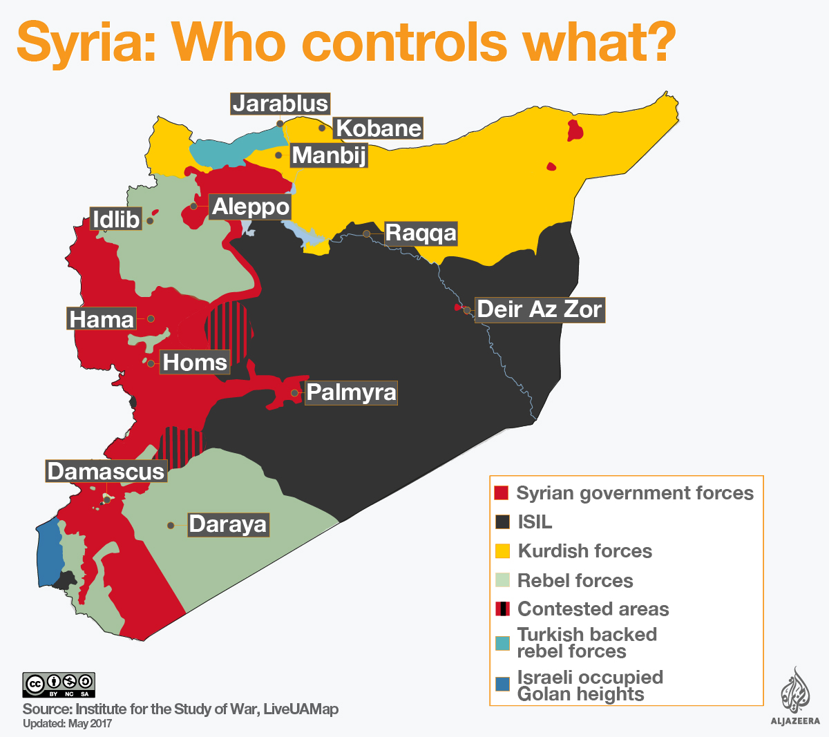 Kurdish Involvement in the Syrian Civil War