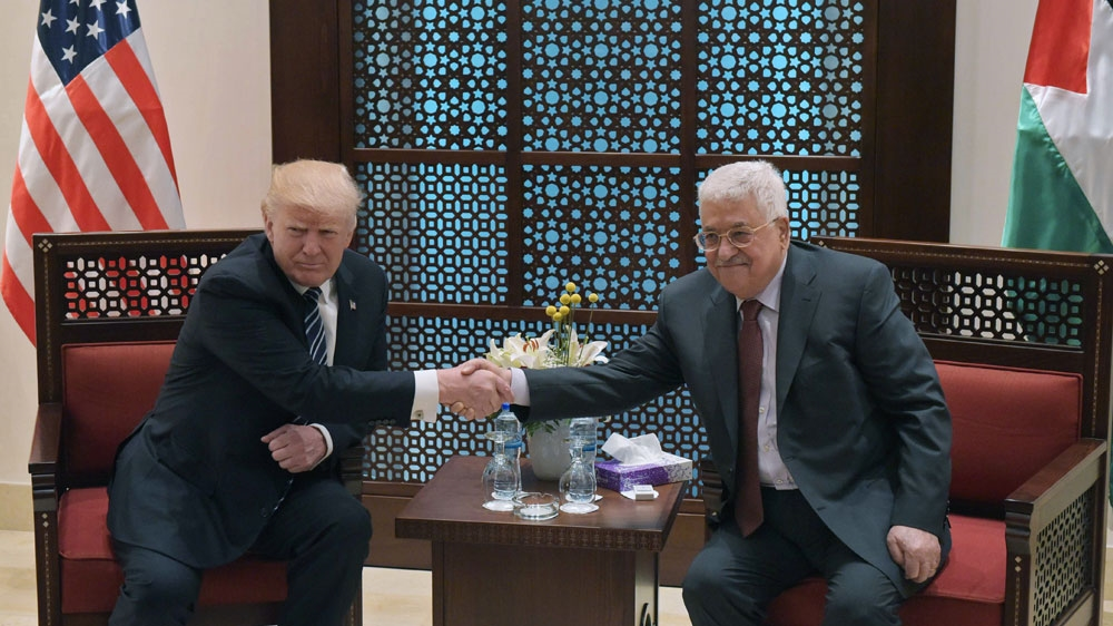 Trump vows to do everything to achieve Israel-Palestine peace