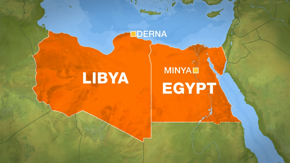Egypt launches strikes in libya after minya attack egypt news al sources on the ground say the six locations targeted by egyptian warplanes are civilian areas and populated districts inside the city he said gumiabroncs Image collections