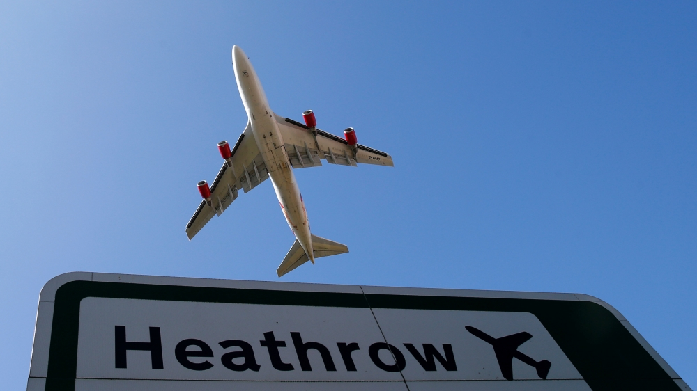 British Airways Canceled Flights from London's Heathrow and Gatwick