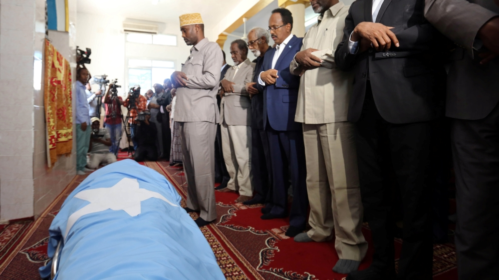 Abbas Abdullahi Siraji was killed by another official's guards in what president called 'unfortunate tragedy'.
