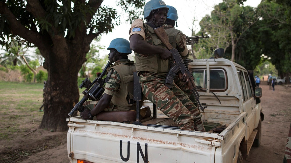 Four UN peacekeepers killed in Central African Republic