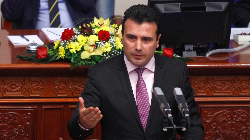Zoran Zaev wins confidence vote to form goverment