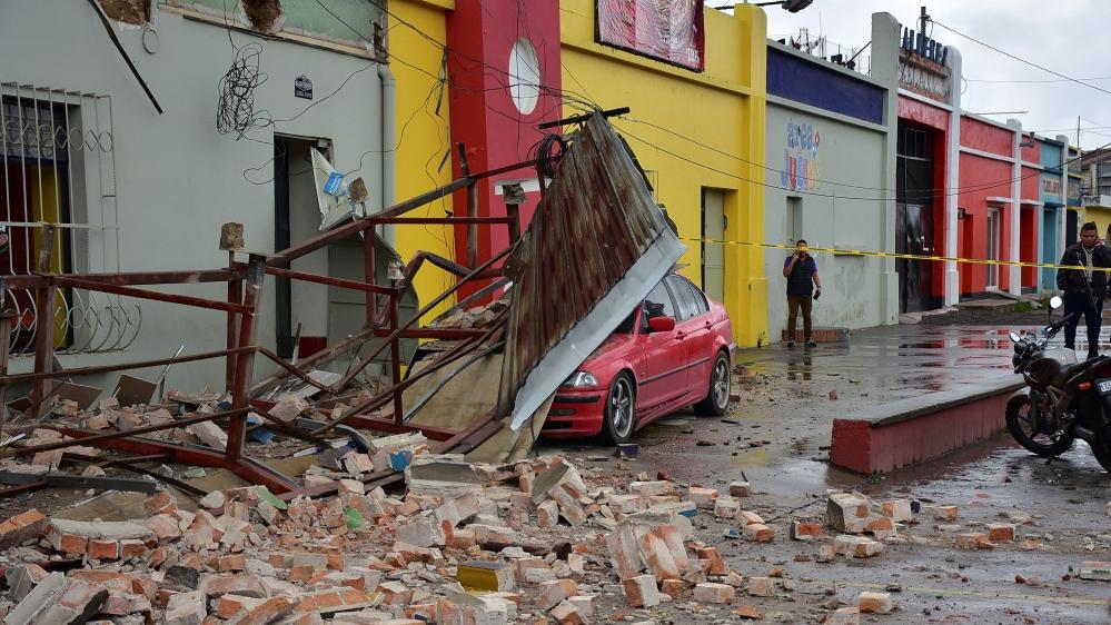 Guatemala earthquake leaves five dead
