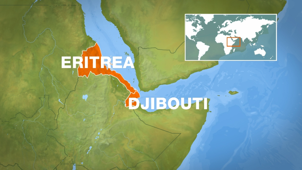Official says Eritrean soldiers occupied moved contested border territory, days after Qatar pulled its peacekeepers out.
