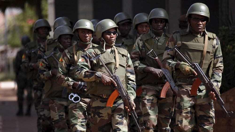 Five soldiers killed, eight wounded in an attack in northern region, which is frequently targeted by armed fighters.