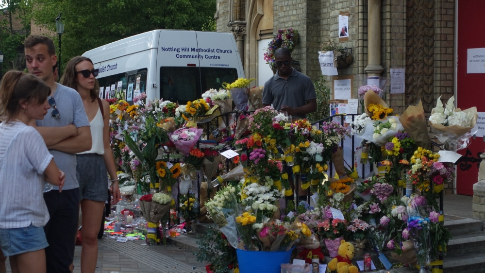 London fire: 58 presumed dead in Grenfell Tower blaze, say police